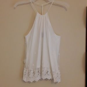 Wet seal lace tank